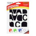 POCHETTE LETTRES ADHESIVES 40MM BLANCHE