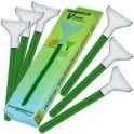 VISIBLE DUST KIT SPATULE X 12 16MM GREEN